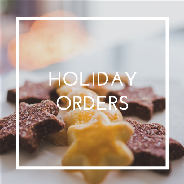 holiday orders